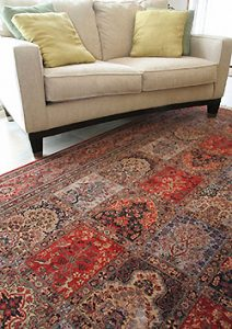 valuable oriental rug