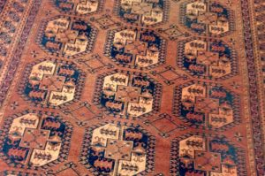 antique afghani rug