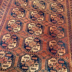 antique afghani rug